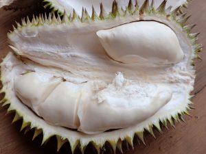 Bagian dalam Durian Rajo Watukuro
