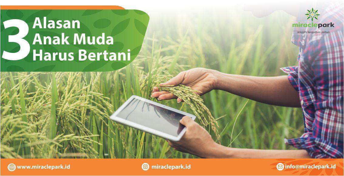 3 Alasan Anak Muda Harus Bertani
